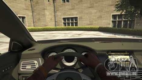 GTA 5 Mercedes-Benz CLS 6.3 AMG [BETA] Rückansicht