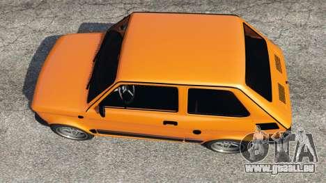 GTA 5 Fiat 126p v1.0 Rückansicht