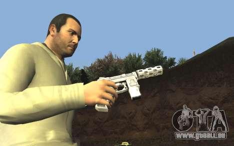 GTA 5 Tec-9 pour GTA San Andreas septième écran