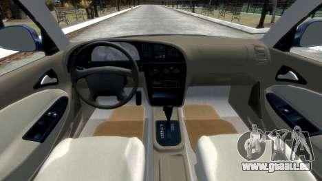 Daewoo Nubira II Sedan SX USA 2000 pour GTA 4 est un côté