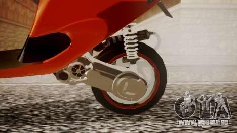 Zip SP Stage6 Cup für GTA San Andreas rechten Ansicht