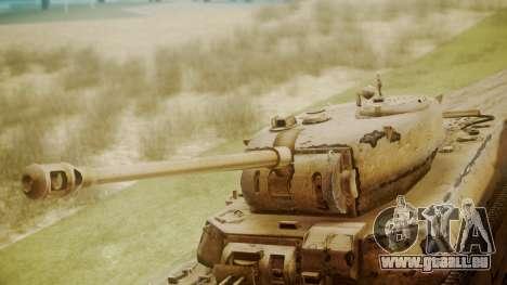 Heavy Tank M6 from WoT für GTA San Andreas rechten Ansicht