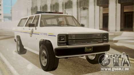 GTA 5 Declasse Rancher XL Police IVF pour GTA San Andreas