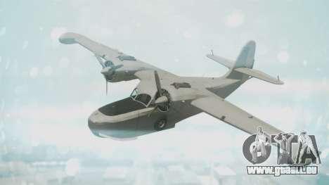 Grumman G-21 Goose Grey pour GTA San Andreas