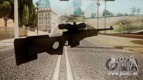 Sniper Rifle by catfromnesbox für GTA San Andreas zweiten Screenshot