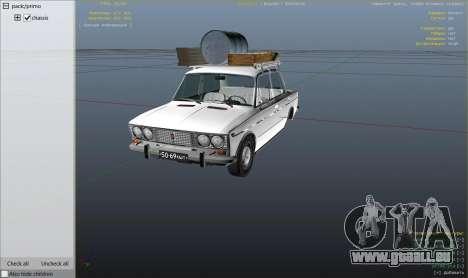 GTA 5 Moteur VAZ 2103