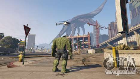 The Hulk pour GTA 5