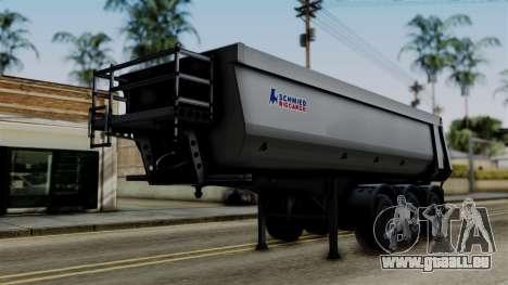 Schmied Bigcargo Solid Trailer Stock pour GTA San Andreas