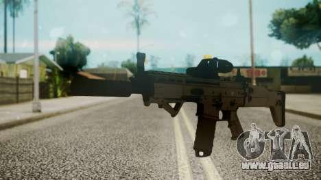 SCAR-L Custom pour GTA San Andreas
