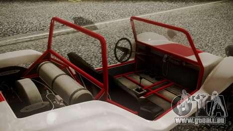 GTA 5 BF Bifta IVF pour GTA San Andreas vue de droite