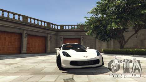 Chevrolet Corvette C7 Z06 für GTA 5