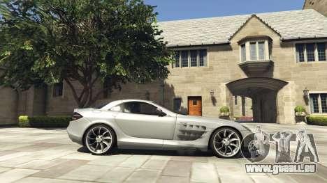 GTA 5 Mercedes-Benz SLR 2005 v2.0 linke Seitenansicht