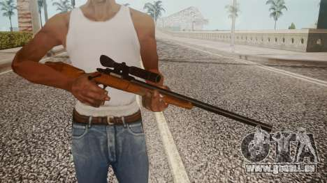 Low Poly Hunting Rifle für GTA San Andreas dritten Screenshot