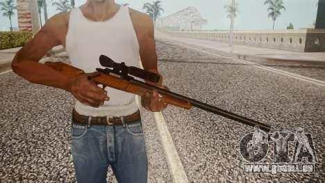 Low Poly Hunting Rifle pour GTA San Andreas troisième écran