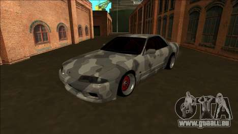 Nissan Skyline R32 Army Drift für GTA San Andreas