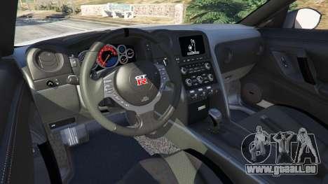 GTA 5 Nissan GT-R (R35) [RocketBunny] v1.2 hinten rechts