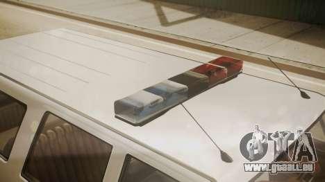 GTA 5 Declasse Rancher XL Police pour GTA San Andreas vue de droite