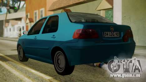 Fiat Albea Sole pour GTA San Andreas laissé vue
