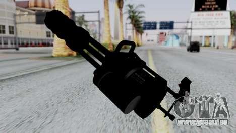M134 Minigun pour GTA San Andreas deuxième écran