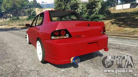 Mitsubishi Lancer Evolution IX Dk für GTA 5