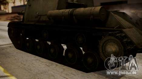 ISU-152 from World of Tanks für GTA San Andreas rechten Ansicht