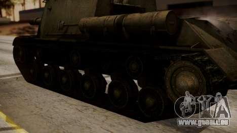 ISU-152 from World of Tanks pour GTA San Andreas vue de droite