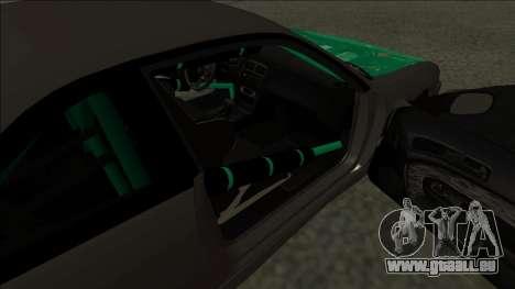 Nissan 200sx Drift für GTA San Andreas zurück linke Ansicht