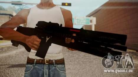 VXA-RG105 Railgun Shark pour GTA San Andreas