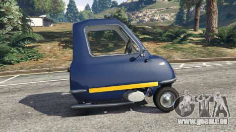 Peel P50 Police für GTA 5