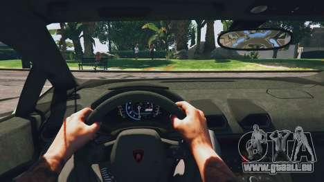 GTA 5 LibertyWalk Lamborghini Huracan Rückansicht