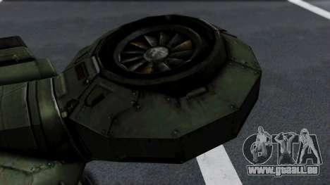 Hornet Halo 3 pour GTA San Andreas vue de droite