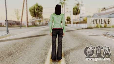 Ofyri CR Style pour GTA San Andreas troisième écran