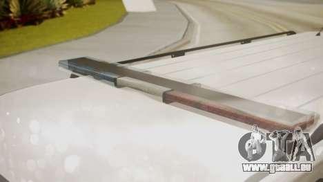 GTA 5 Declasse Granger Park Ranger pour GTA San Andreas vue de droite