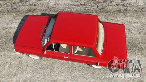 GTA 5 ZAZ-ET vue arrière