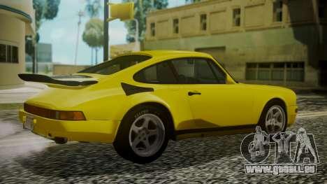 RUF CTR Yellowbird 1987 pour GTA San Andreas laissé vue