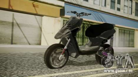 MBK Booster Rocket Tuning pour GTA San Andreas