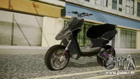 MBK Booster Rocket Tuning für GTA San Andreas