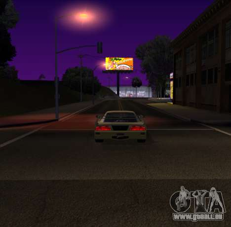 Need for Speed Cam Shake pour GTA San Andreas troisième écran