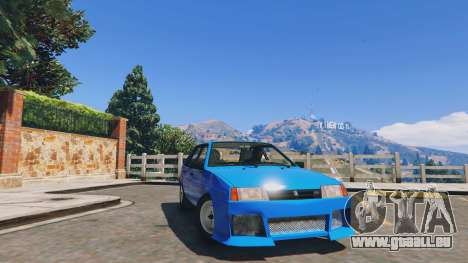 GTA 5 Moteur Ваз 21093i (Réglable) v1.1 [FINAL]