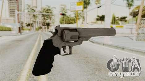 Desert Eagle from RE6 für GTA San Andreas zweiten Screenshot