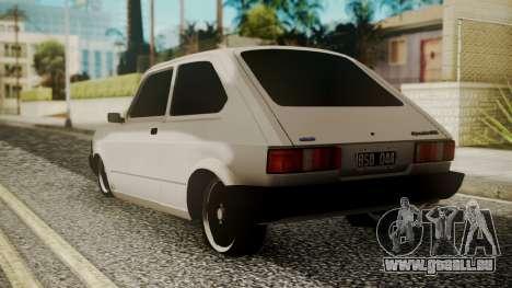 Fiat 147 Spazio-TR pour GTA San Andreas laissé vue