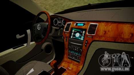 Nissan Patrol IMPUL 2014 pour GTA San Andreas vue de droite