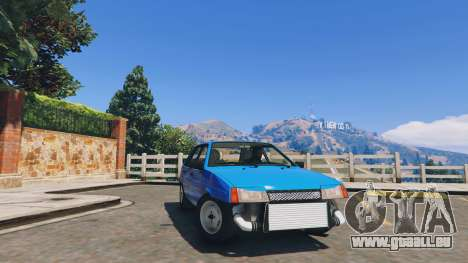 Ваз 21093i (Tunable) v1.1 [FINAL] für GTA 5