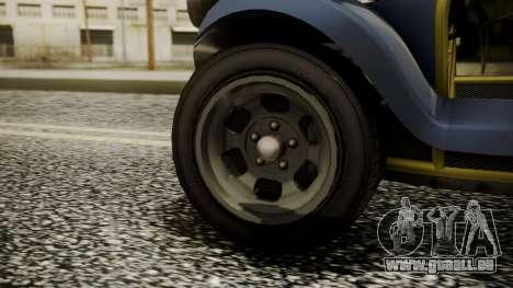 GTA 5 BF Bifta pour GTA San Andreas sur la vue arrière gauche