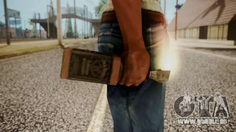 Molotov Cocktail from RE Outbreak Files für GTA San Andreas dritten Screenshot
