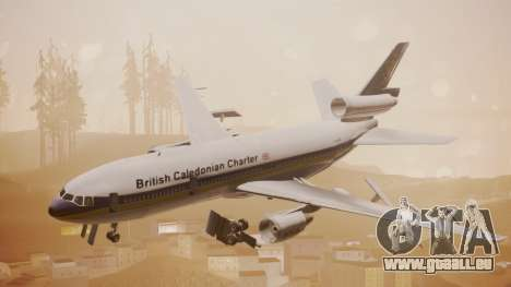 DC-10-30 British Caledonian Charter für GTA San Andreas