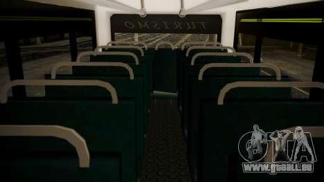 Chevrolet B70 Bus Colombia pour GTA San Andreas vue arrière