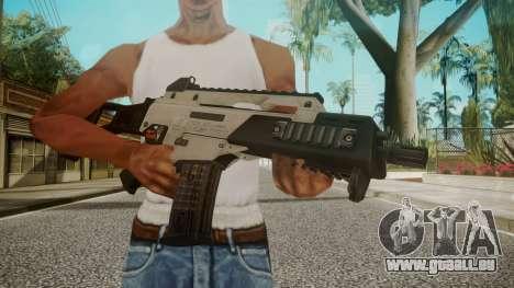 G36C Silver pour GTA San Andreas troisième écran