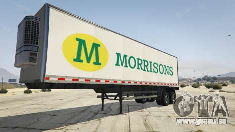 GTA 5 Real Brand Truck Trailers vierten Screenshot