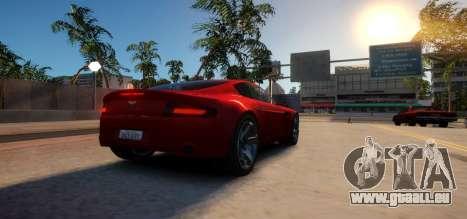 Aston Martin DB9 Vice City Deluxe für GTA 4 rechte Ansicht